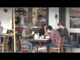 Aaron Carter gets Car Paparazzi at lunch - YouTube