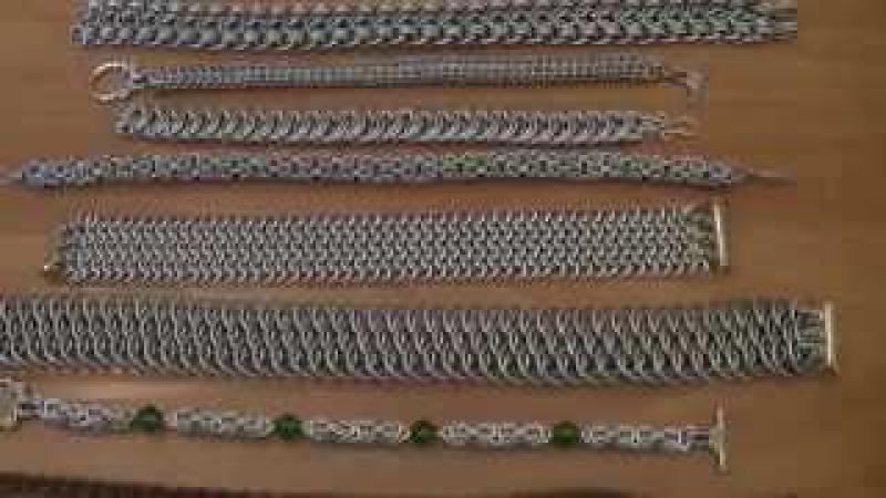 Biżuteria chainmaille cz 1 omówienie serii