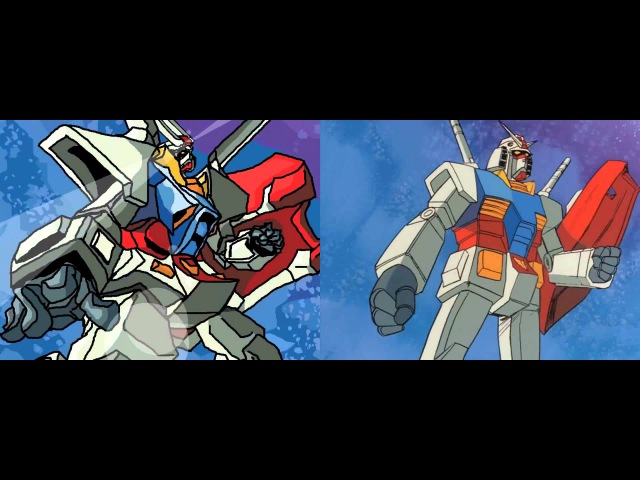 /m/ Draws Mobile Suit Gundam's Opening: The Identical Twin Version