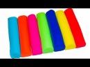 Лепим из Пластилина Плей До. Учим Цвета. Развивающее видео для детей. Игрушки Фиксики.