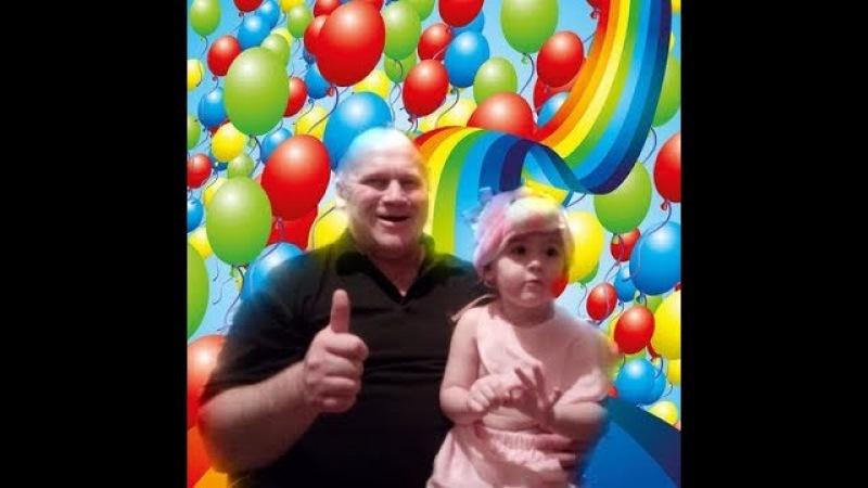 Учим цвета Надуваем шарики и лопаем Видео для детей learn colors