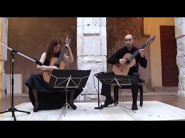 Granados ANDALUZA Playera Gea Gómez guitar duo смотреть онлайн без регистрации