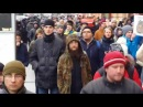 Скандируют путин ВОР Митинг 2018 январь Москва