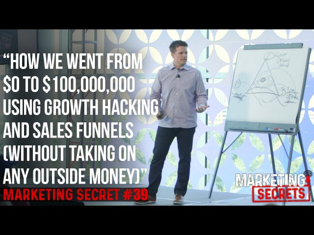 Secret 39: How We Went From $0 To $100,000,000 Using Growth Hacking And Sales Funnels