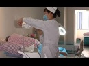 Wound Treatment by Ultrasonic Wound Debridement Machine in Guangxi Hospital