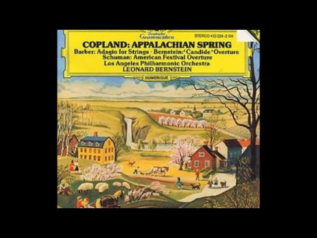AARON COPLAND - Simple Gifts From Appalachian Spring - LEONARD BERNSTEIN