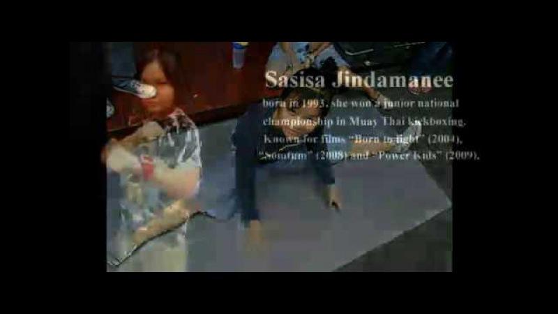 Muay Thai Tailândia Sasisa Jindamanee.