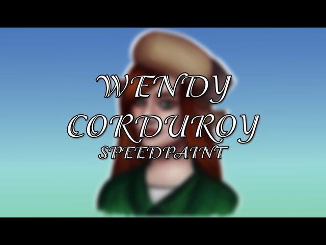 ВЕНДИ КОРДРОЙ | WENDY CORDUROY | GRAVITY FALLS | SPEEPDAPINT 28