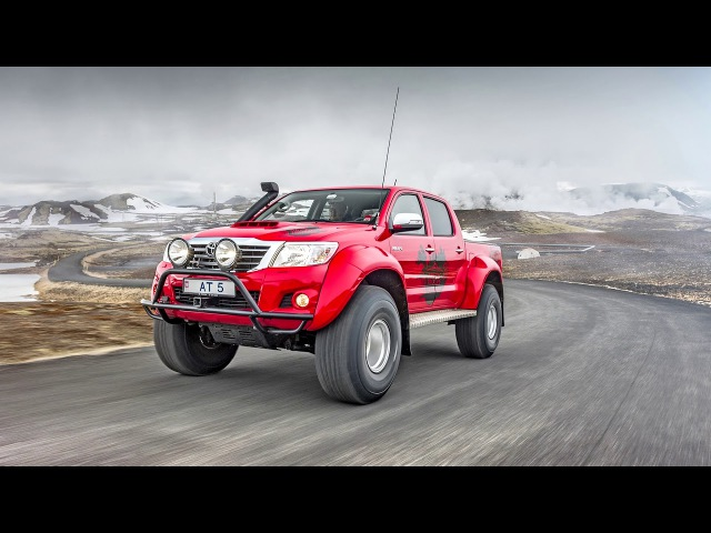Arctic Trucks Toyota Hilux Double Cab AT38 2011 16