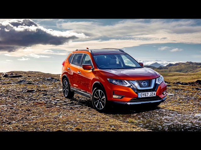 Nissan X Trail UK spec T32 2017