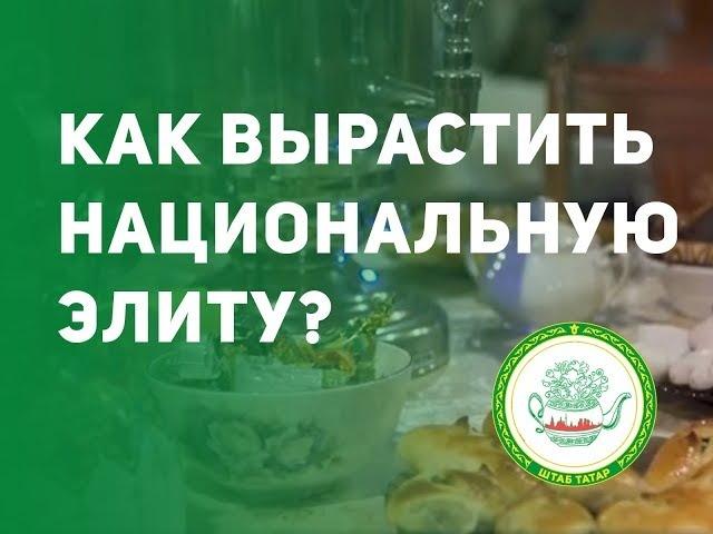 Как вырастить национальную элиту? Круглый стол «Уртак фикер» Штаба татар