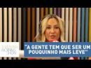 A gente tem que ser um pouquinho mais leve , defende Claudia Leitte sobre críticas à Lacradora