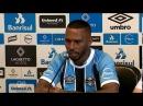 Paulo Miranda comete gafe e troca Grêmio pelo Inter em apresentação