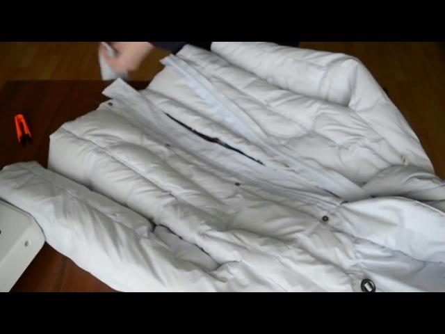 Как увеличить размер куртки ЛЕГКО И ПРОСТО