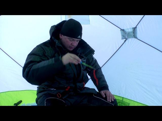 Лёд 2018. Гвоздекубик и нимфа спасают рыбалку