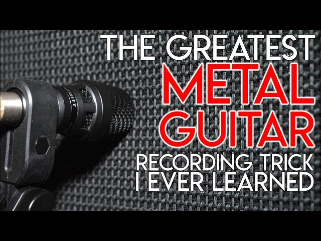 The Greatest METAL GUITAR recording trick I ever learned | SpectreSoundStudios TUTORIAL