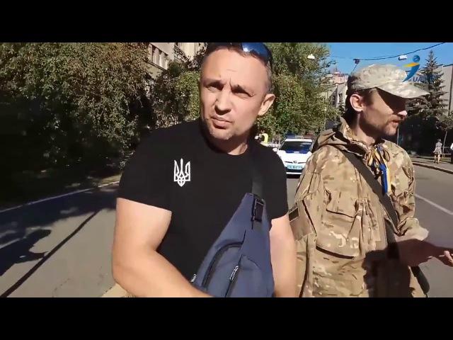 Мітинг СПРАВЖНИХ Українських Патріотів, напроти будівлі мвс, з вимогою громадсь...