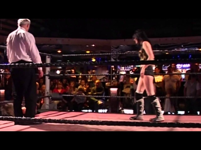 WAW Britani Knight (Paige WWE) vs Sweet Saraya