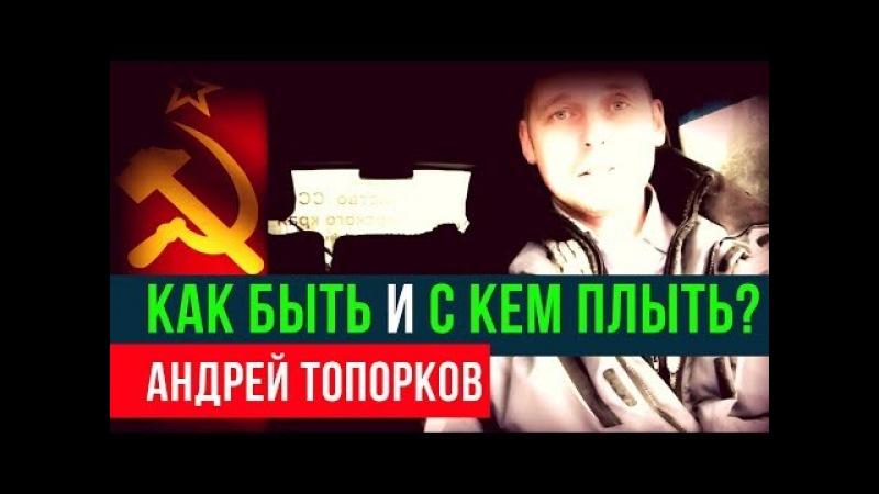 Андрей Топорков: как быть и с кем плыть?| Возрождённый СССР Сегодня