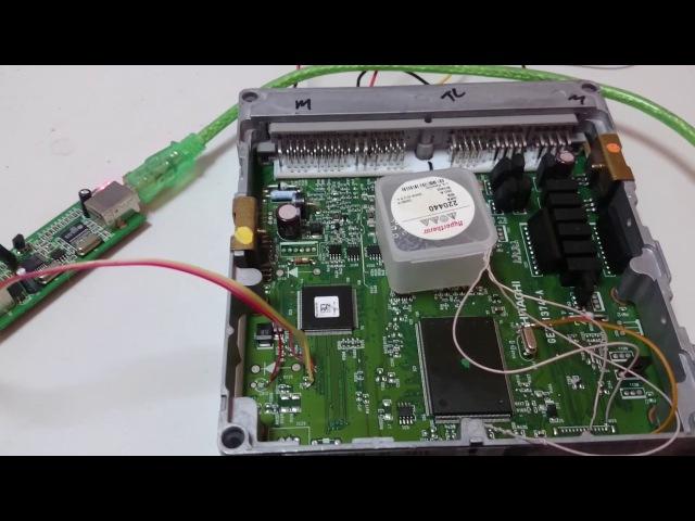 Unbrick Nissan Xterra Ecu Sh7055 by Renesas Flash Developmetn Tool Basic Mode