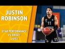 VTBUnitedLeague • Star Performance. Justin Robinson – 30 pts, 12 ast 38 eff @ Krasnoyarsk!