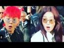 G-DRAGON and Park Shin Hye reaction when they see (chosaeho) Jo se ho @ Chanel Fashion Show