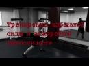 Тренировка взрывной силы и анаэробной выносливости Explosive strength and aerobic endurance