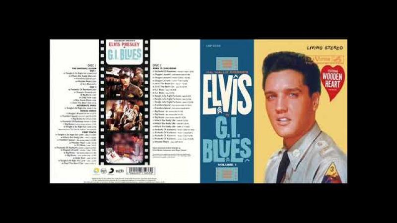 Elvis Presley G I Blues CD 2