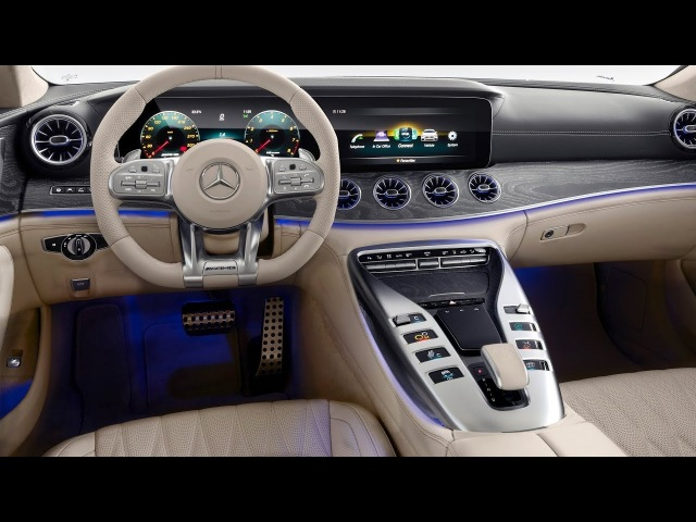 2019 Mercedes-AMG GT Coupe - INTERIOR