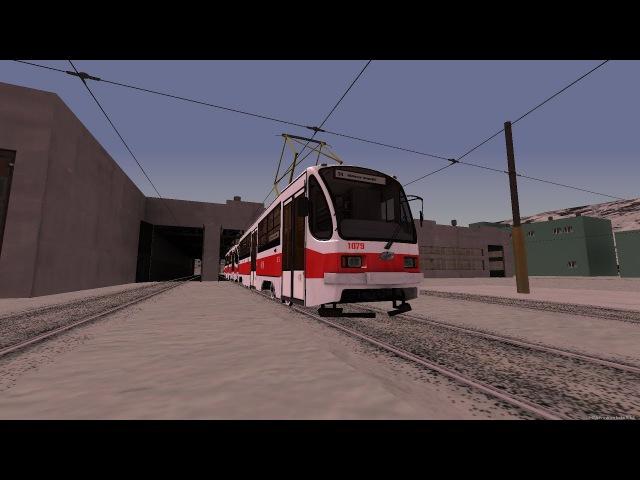 ТРАМВАЙ УТМ 71-405 I MTA PROVINCE