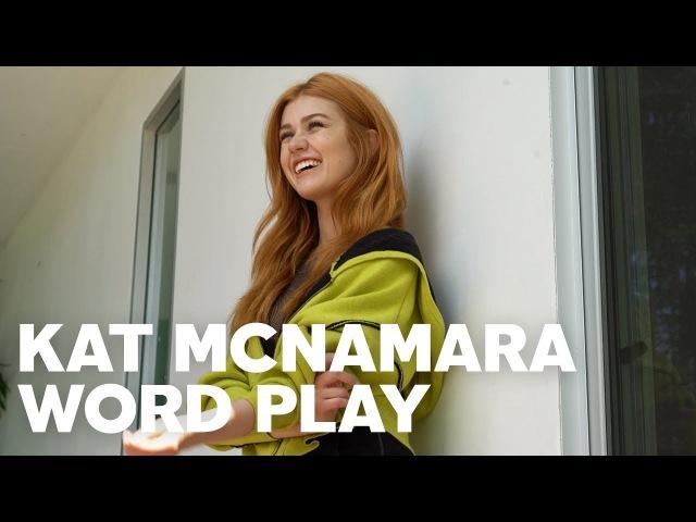 Katherine McNamara for RAW's Word Play