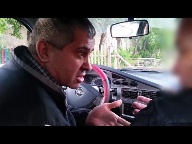 Бешеный таксист Uber