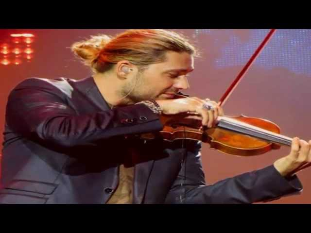 David Garrett [photos] Rachmaninoff concerto No2. HD.
