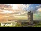 расслабляющая традиционной ирландской музыки со скрипкой, волынка, флейта инструментальная Кельтский