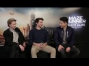 MAZE RUNNER: Thomas and Dylan respond to DYLMAS! It's SEXSHIP!