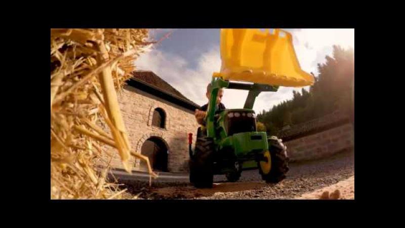 Игрушки для детей - Экскаватор. Игрушки машины - Рабочие машины для детей Toys cars for...