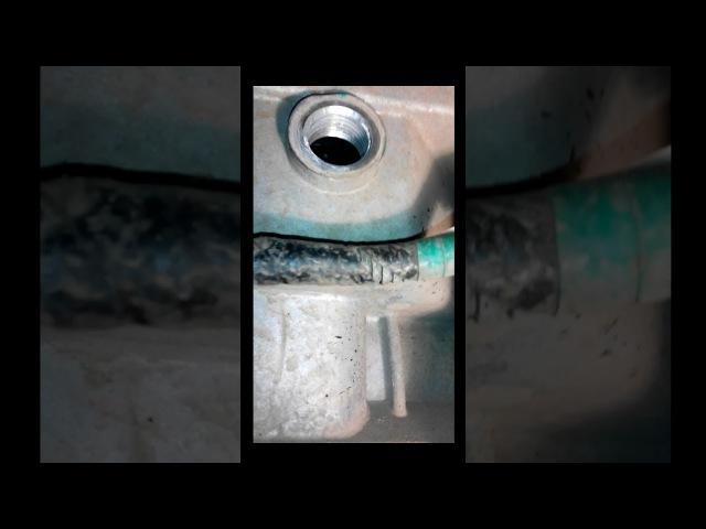 Замена масла в КПП Лифан Х60 -часть 2
