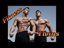 German Fitness Twins Konstantin Sebastian Fibo Gym Muscle Pump Styrke Studio