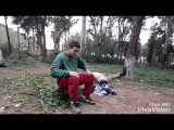 Fouad Benmaza training parkour