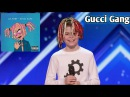 Kid dances to Gucci Gang on America's got talent!