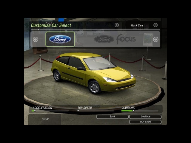 Need for Speed Underground 2 купил Ford Fokus/первый драг-рейсинг
