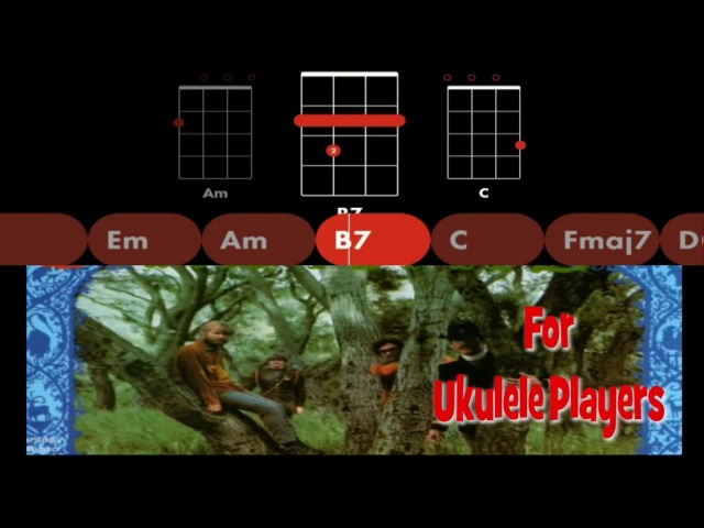 Creedence Clearwater Revival I Put a Spell on You for Ukulele