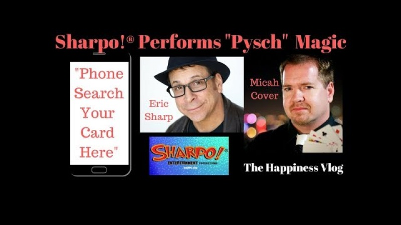 Sharpo Magic: Performing