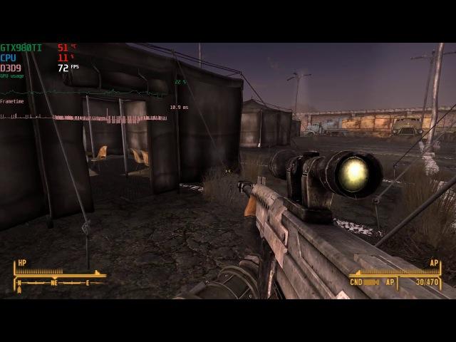 Fallout New Vegas BOZAR ( 15 shot vats burst modified by GECK)