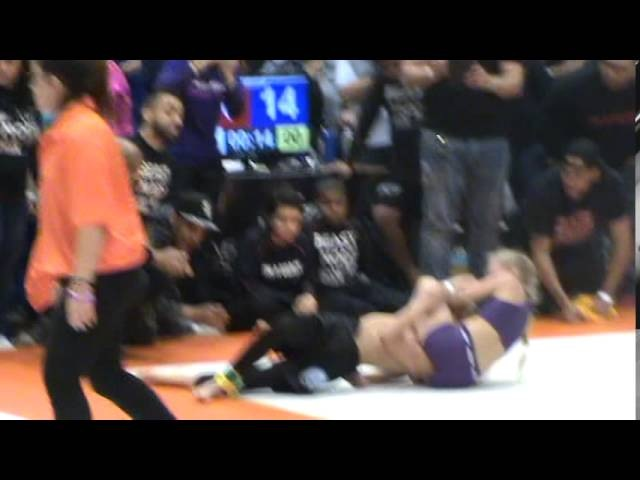 Izabella Frezzo Defeats boy at Grappling Industries BJJ Tournament in Manhattan, NY.