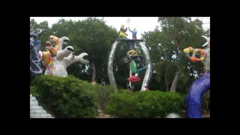 Niki de Saint Phalles Tarot Garden in Tuscany