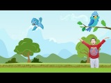 How to make a bluebird with paper  Kids Video