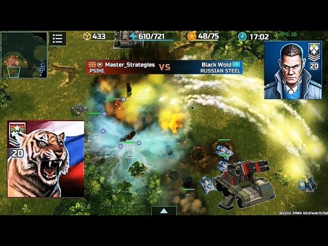 Art of war 3 Master Strategies (20 rank) vs Black Wold (20 rank) 5 тапов в секунду против 3 ящиков