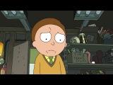 Rick and Morty - когда кто-то превратил себя в огурчик ( на случай важных переговоров)