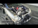 [HOONIGAN] DT 170: Turbo V8 Mini Cooper Catches on Fire - 550HP, Rear Wheel Drive, Hand Brake